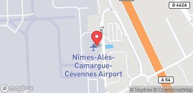 Flughafen Nîmes-Alès-Camargue-Cévennes (122 km)