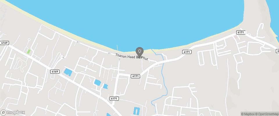 Map for Baan Bophut Beach Hotel