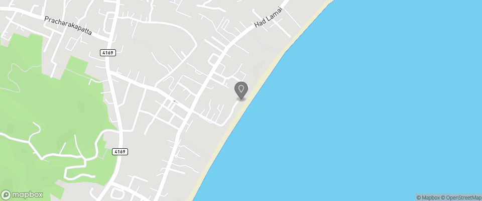 Map for Lamai Inn 99 Bungalows
