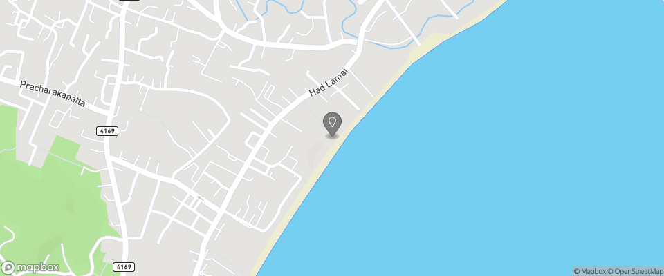 Map for Lamai Coconut Beach Resort