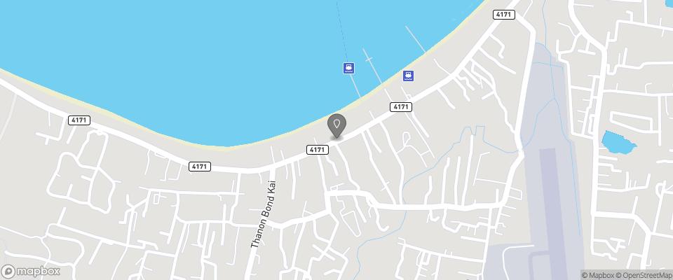 Map for Secret Garden Beach Resort