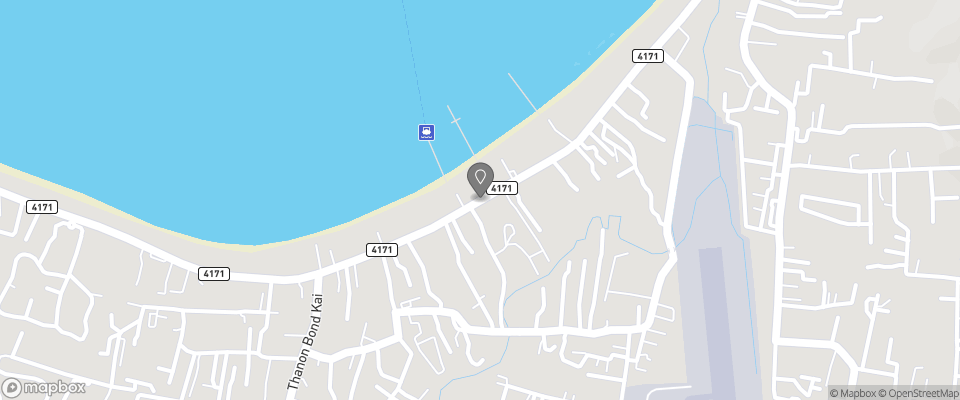 Map for Samui Pier Beach Resort