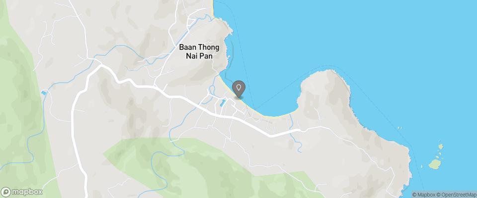 Map for Ping Chan Koh Pha Ngan Beach Resort