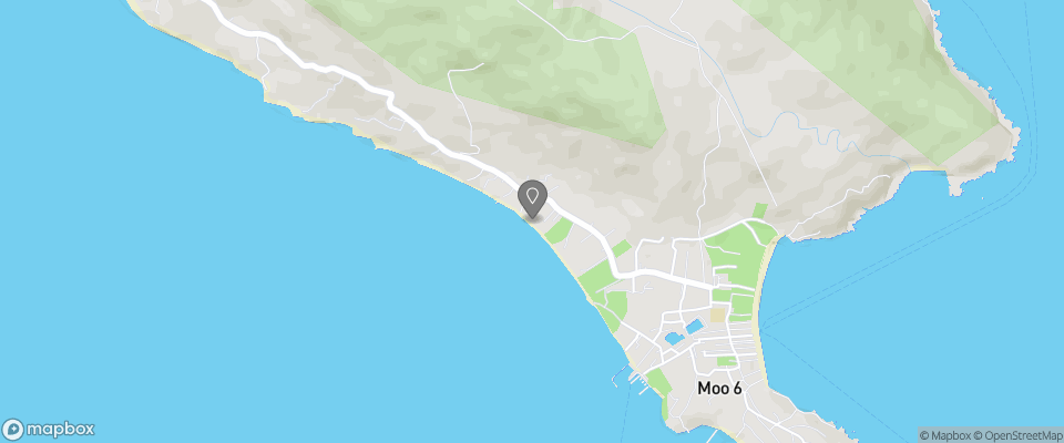 Map for Sun Beach Bungalow