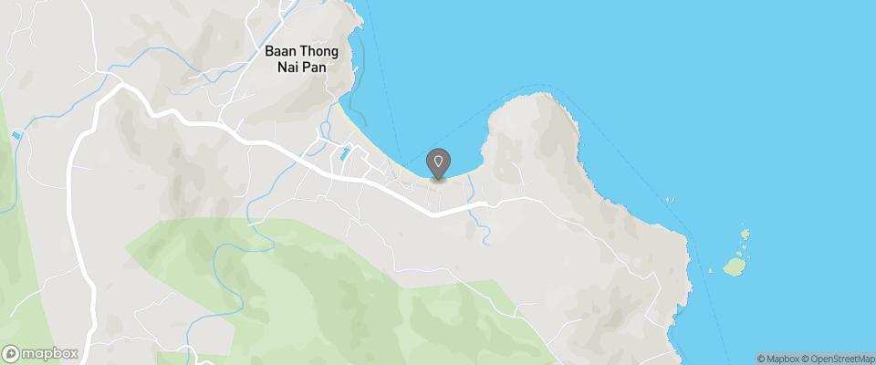 Map for Nice Beach Resort