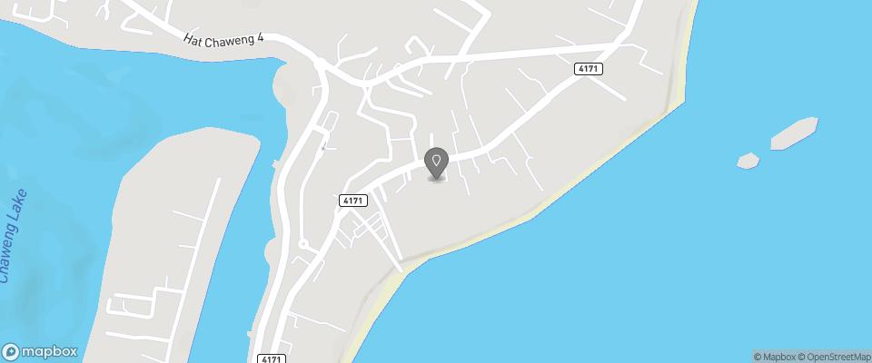 Map for Chaweng Garden Beach Resort