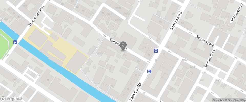 Map for Khaosan Immjai Hostel