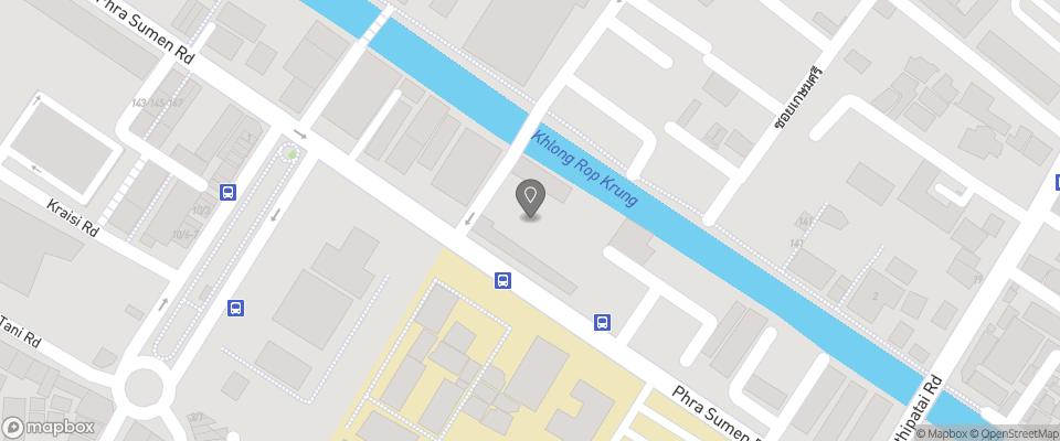 Map for Canale Hostel