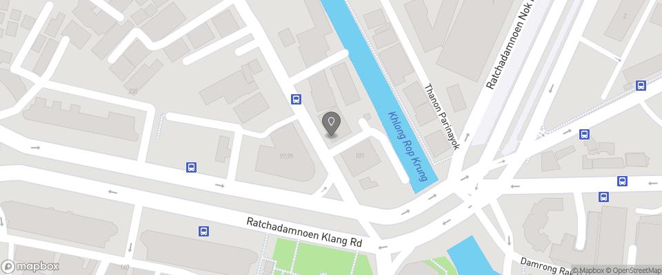 Map for Old Capital Bike Inn