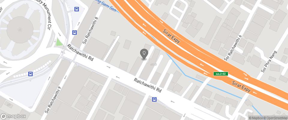 Map for HI Mid Bangkok