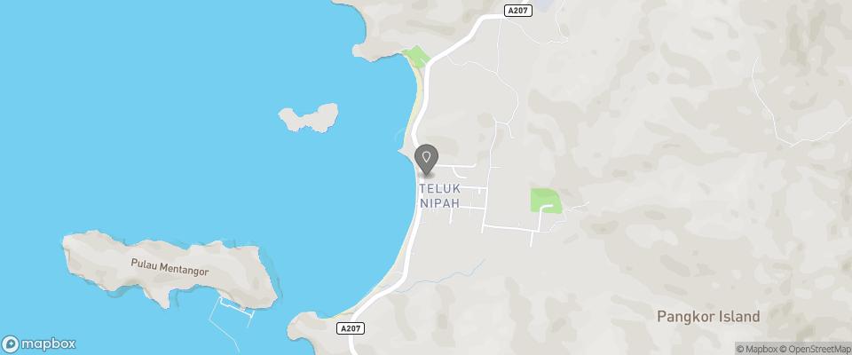 Map for Anjungan Beach Resort