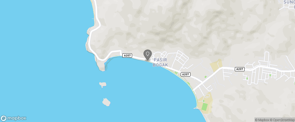 Map for Vikri Beach Resort