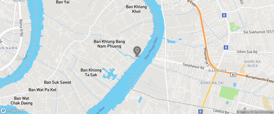 Map for Bang Nam Phueng Homestay