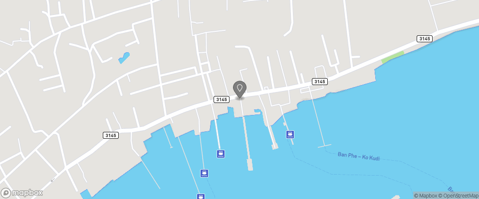 Map for I Na Seaview Hostel