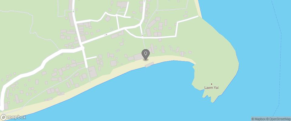 Map for Saikaew Beach Resort