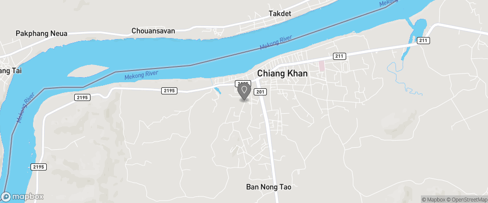 Map for Chiang Khan Green View Resort