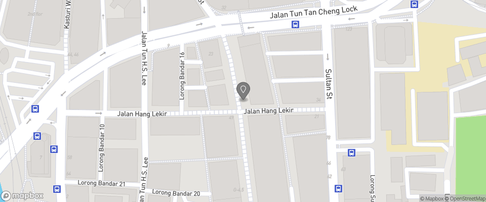 Map for Lantern Hotel
