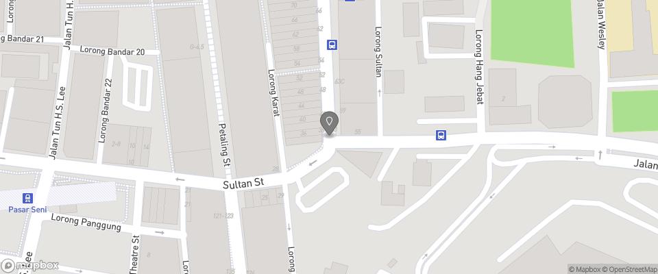 Map for Mingle Hostel