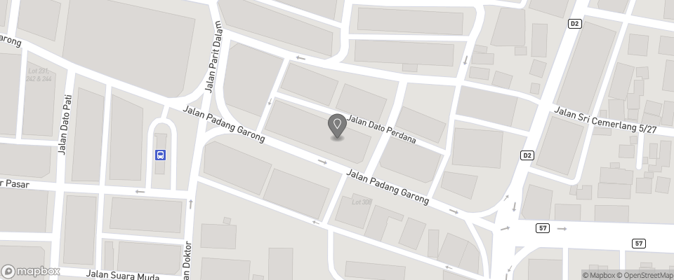 Map for Sabrina Court Hotel