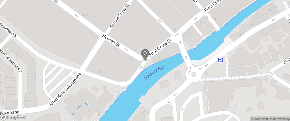 Map for Gingerflower Boutique Hotel