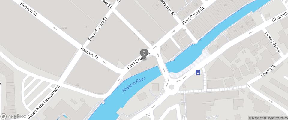 Map for Hangout @ Jonker