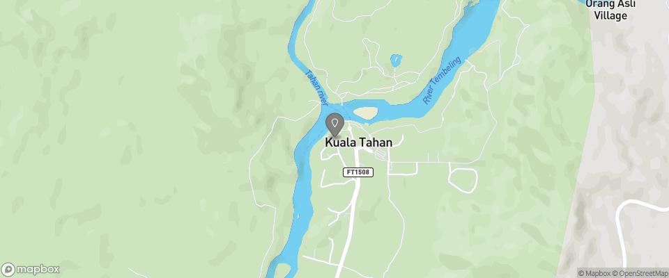 Map for Mahseer Chalet