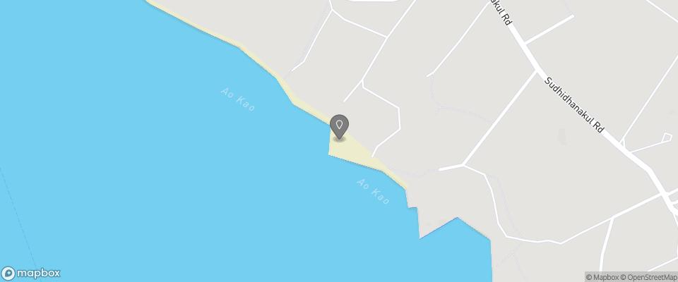 Map for Ao Kao White Sand Beach Resort