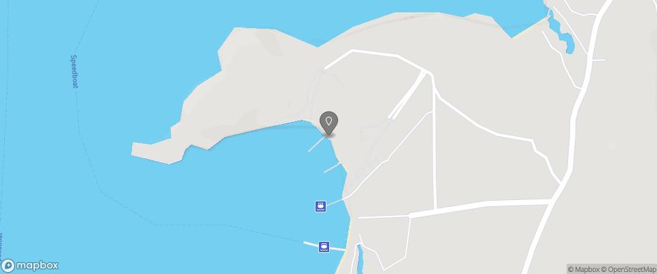 Map for Koh Kood Resort