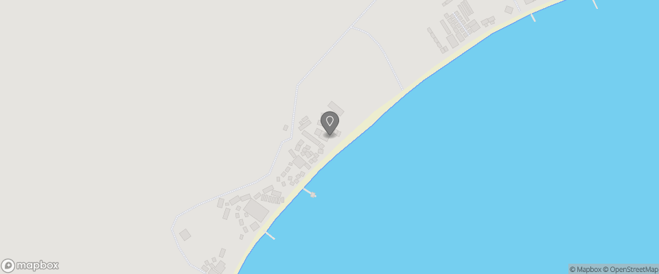 Map for Fauna Beach Chalet