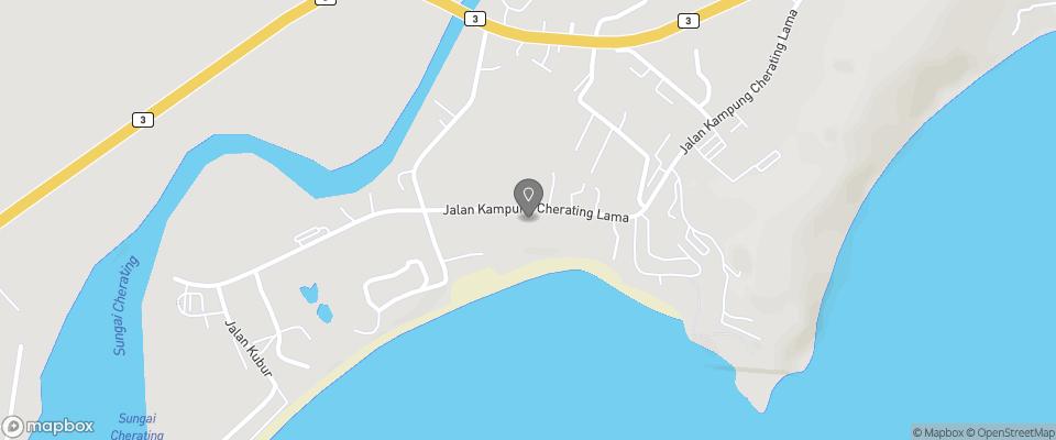 Map for Ranting Beach Resort