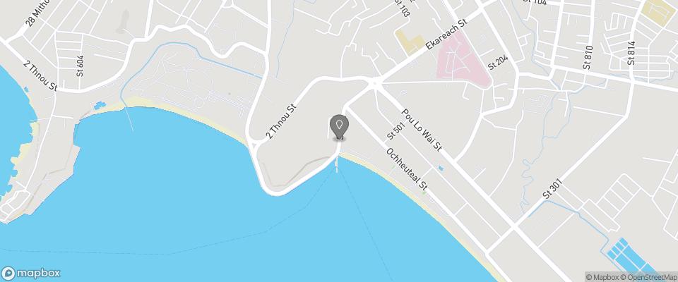 Map for Serendipity Beach Resort