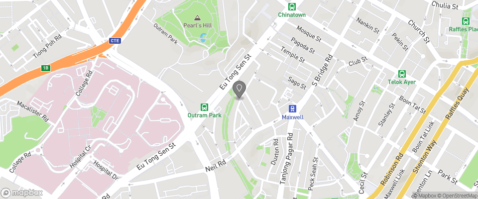 Map for Keong Saik Hotel