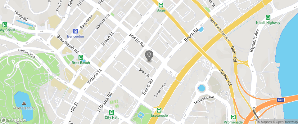 Map for Adonis Hotel