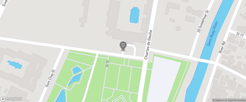 Map for Raffles Grand Hotel d'Angkor
