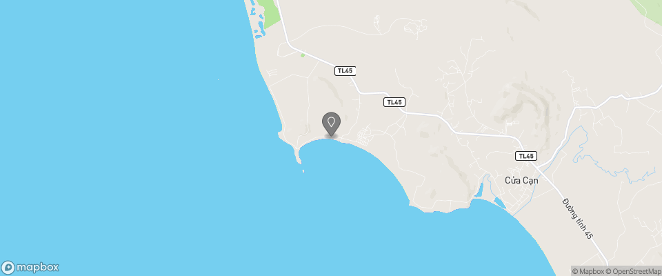 Map for Wild Beach Resort