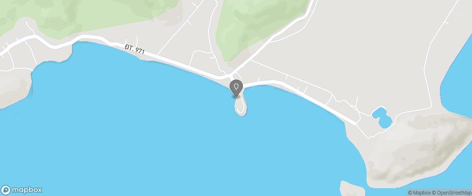 Map for Hon Trem Resort