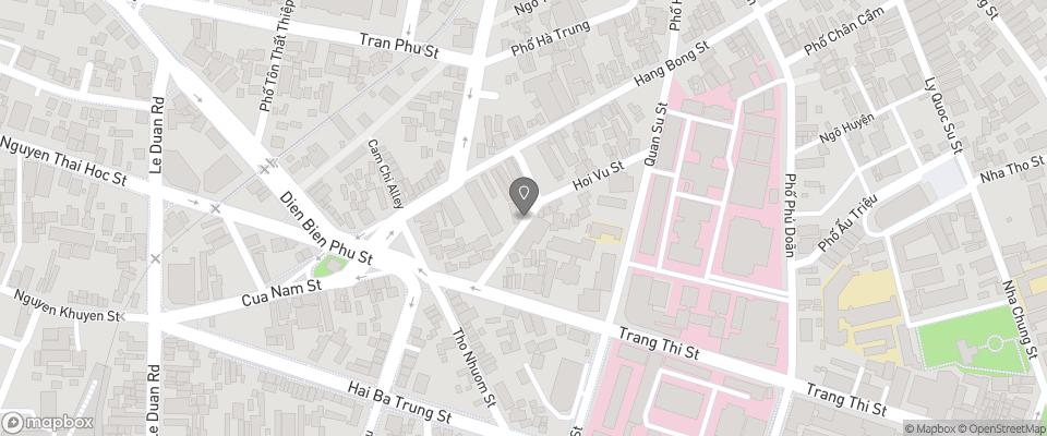 Map for Hanoi Grand Hotel