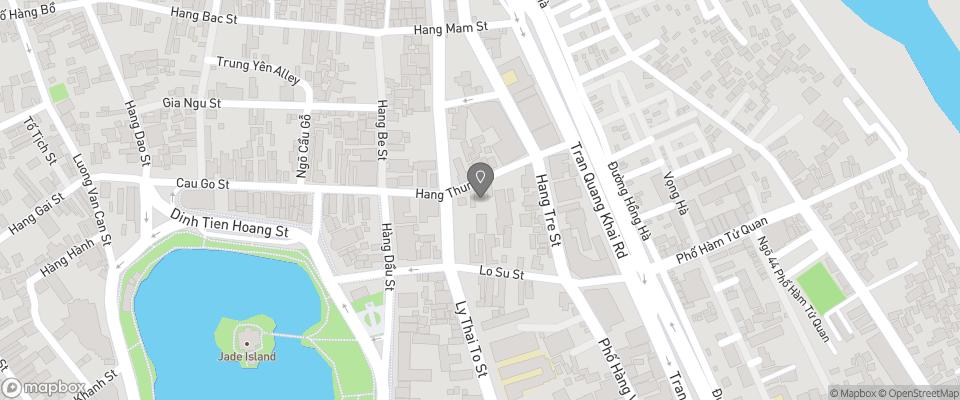 Map for New Star Hotel Hanoi