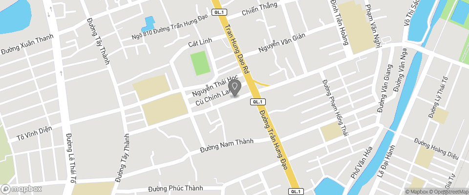 Map for Ngoc Anh Hotels 1 and 2