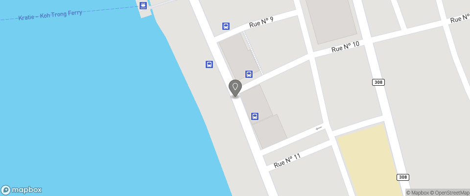 Map for Heng Heng Kratie Guesthouse