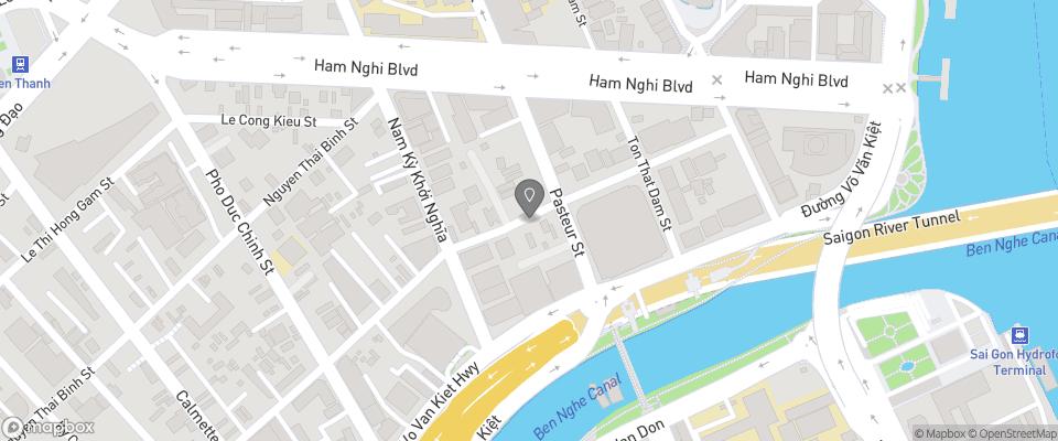 Map for Ohana Hotel