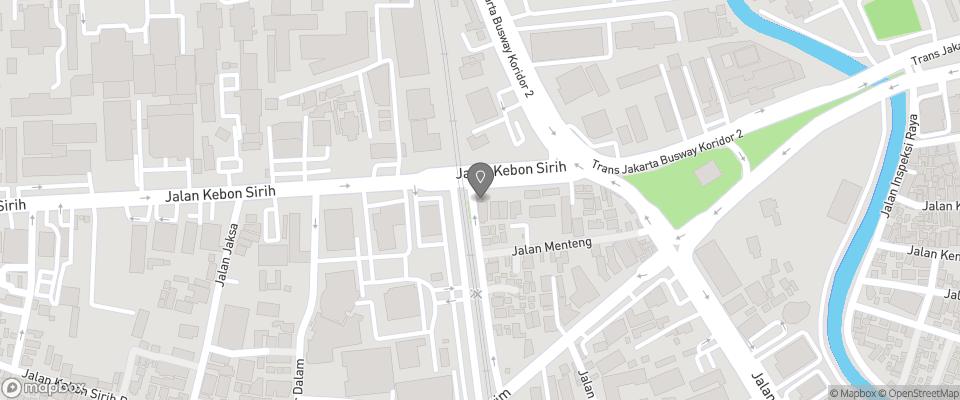 Map for Konko Hostel