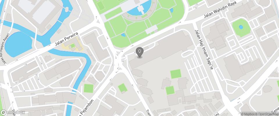 Map for Hotel Borobudur
