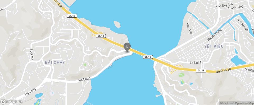 Map for Ha Long Plaza Hotel