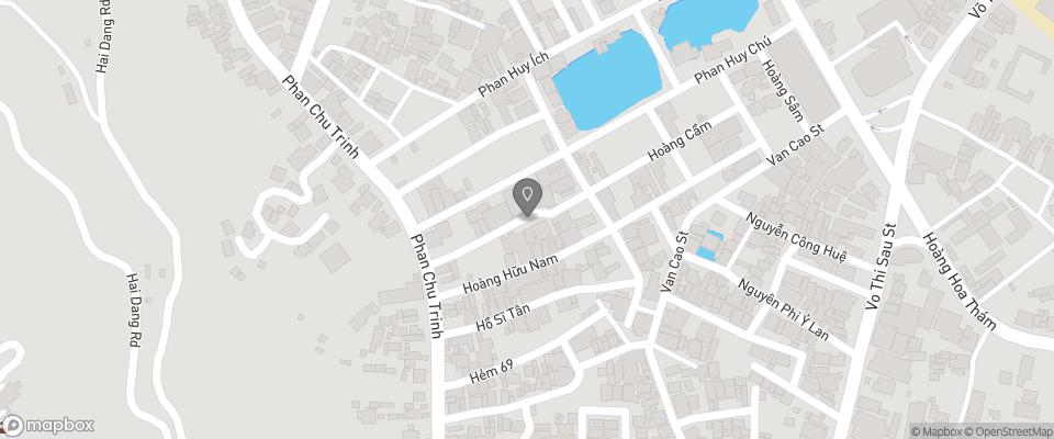 Map for Sakura Hotel