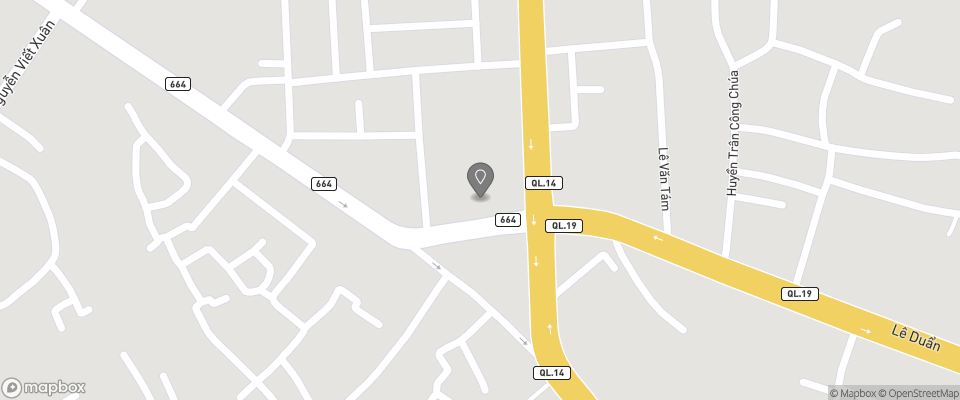 Map for Hoang Anh Gia Lai Hotel
