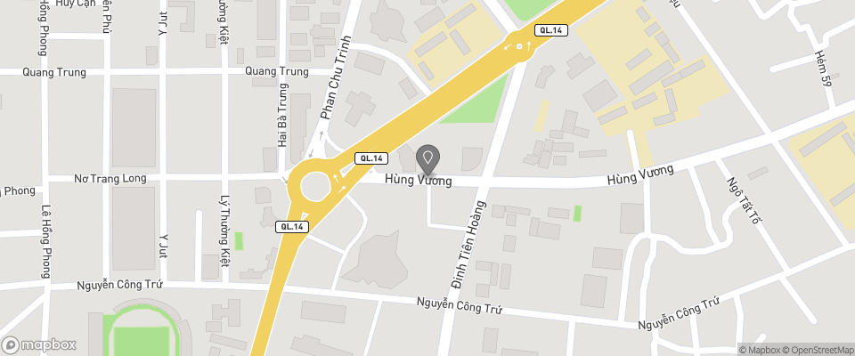 Map for Gia Dinh Guest House (Family Inn)