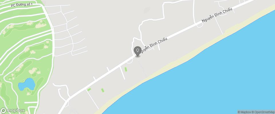 Map for Mia Resort Mui Ne