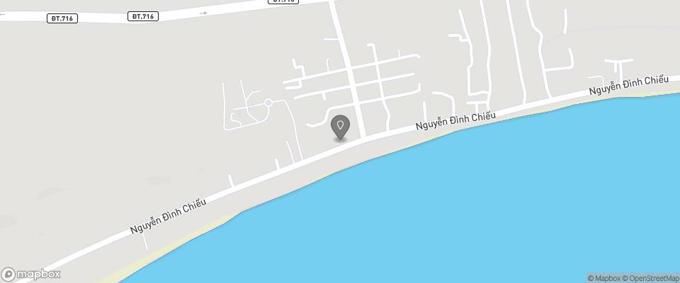 Map for Mui Ne Backpacker Village