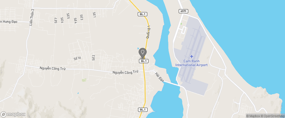 Map for Trieu Khang Hotel